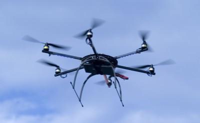 drone telerilevamento CNR